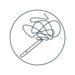 Icon für Raucherentwöhnung _ Schwerpunkte in der Psychotherapie bei Sabrina Fembek